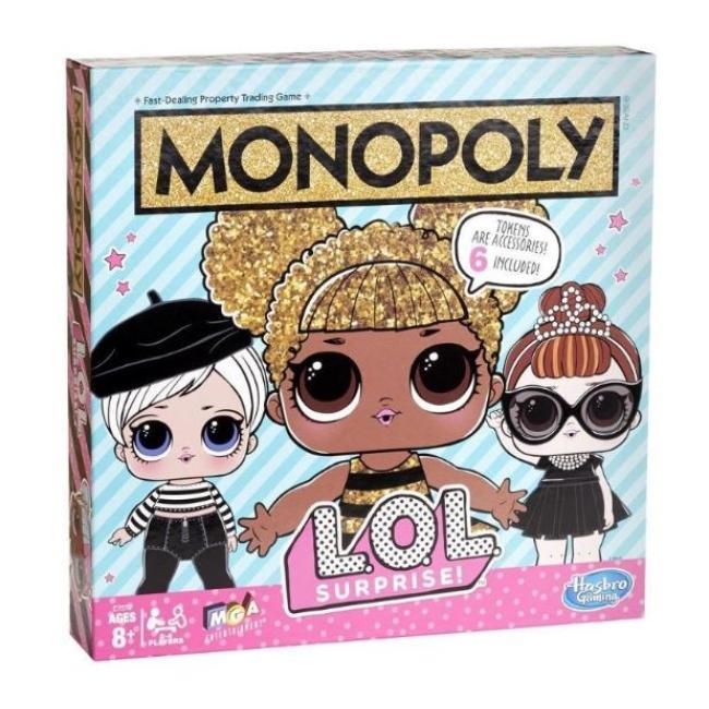 Hasbro Monopoly - LOL Surprise Board Game - E7572