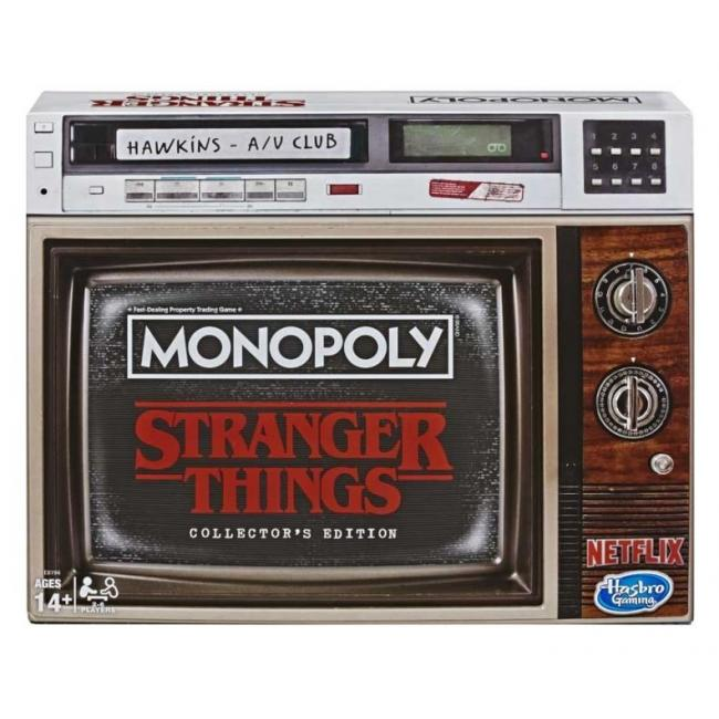 Hasbro Monopoly Stranger Things Collectors - E8194