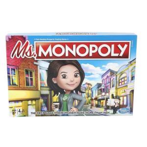 Hasbro Ms. Monopoly Board Game - E8424