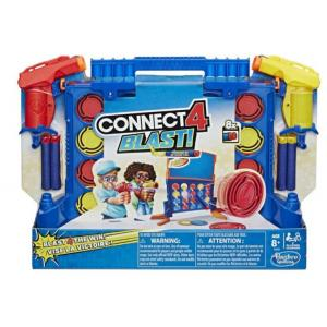Hasbro Connect 4 Blast! Game With Nerf Blasters - E9122
