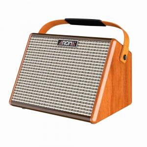 Aroma 25 Watts Rechargeable Bluetooth Acoustic Guitar Amplifier - AG-26A