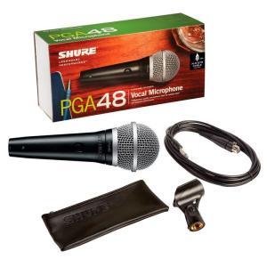 Shure Wireless Cardioid Dynamic Vocal Microphone - PGA48-QTR-E