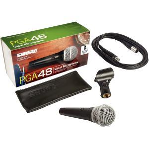 Shure Wireless Cardioid and Dynamic Vocal Microphone - PGA48-XLR-E