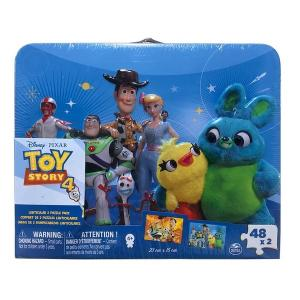 Disney Toy Story 4 Puzzle Dis Lent Tin With Handle Large - 6052997-T