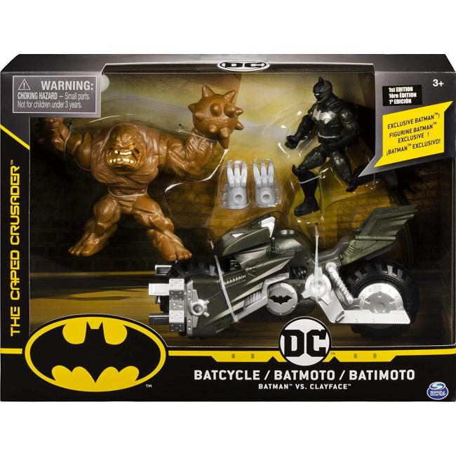 Batman Batcycle with Two 4