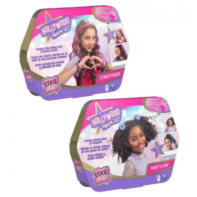 Cool Maker Hollywood Hair Styling Pack Assorted - 6058276-T
