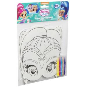 Shimmer And Shine Colour Your Own Mask Shine - SHI-Y17-4524-2
