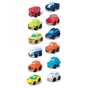MotorTown Soft Touch Cars - Assorted - 113361-T