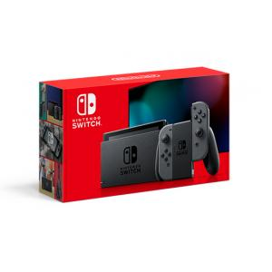 Nintendo Switch Console Grey, New Model-Extended Battery