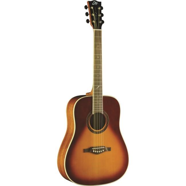 Eko Acoustic D Vintage Burst Guitar - ONE-D-VB