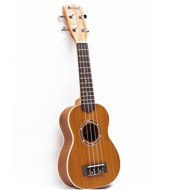 Artland Ukulele Four Strings Guitar, Brown - UKS650