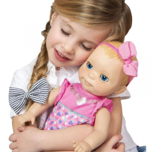 Luvabella Mealtime Magic Mia Doll with Accessories - 6056264-T