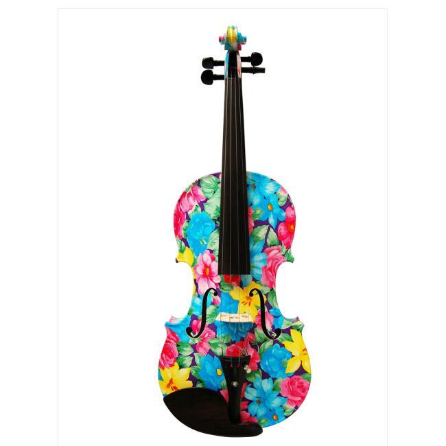 Kinglos 4/4 Colorful Student Violin - XC-1002