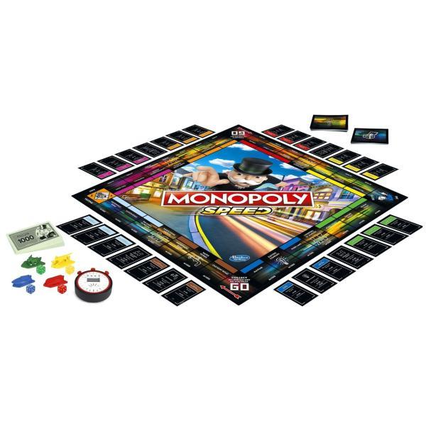 Hasbro Monopoly Speed Edition - E7033