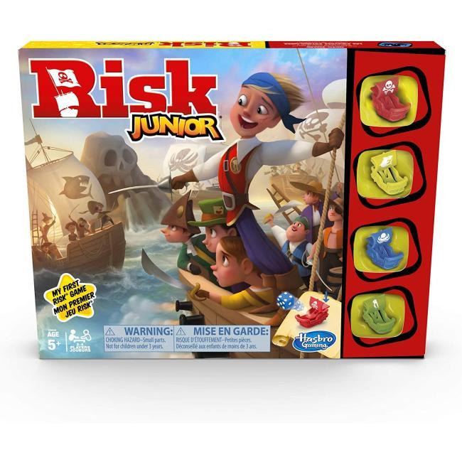 Hasbro Risk Junior Strategy Game Board Game - E6936