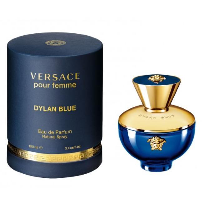 Versace Pour Femme Dylan Blue, Eau de Perfume for Wome - 100ml