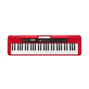 Casio 61 Keys Portable Music Keyboard Without Adaptor, Red - CT-S200RDC2
