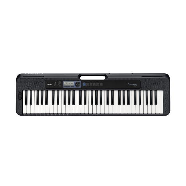 Casio 61 Keys Portable Music Keyboard, Black Without Adaptor - CT-S300C2