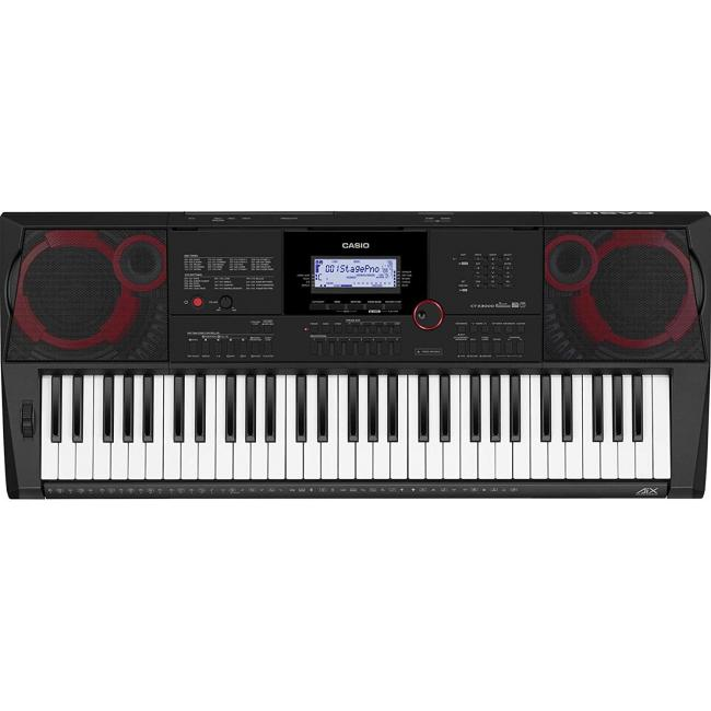 Casio Portable Keyboard with AC Adaptor - CT-X3000C2