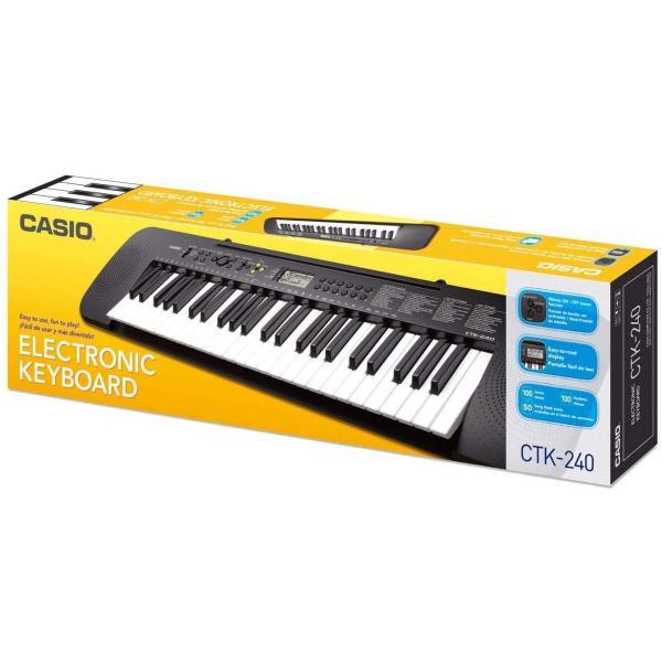 Casio Portable Standard Keyboard Without Adaptor - CTK-240H2