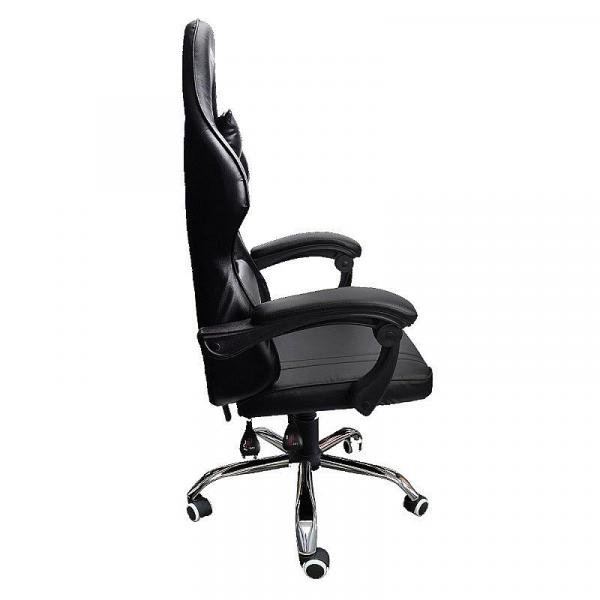 Dragon War Gaming Chair Stock Fixed Armest Black Color - Gc-005