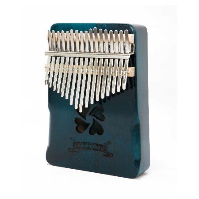 Artland Handguard 17 Key Thumb Piano Pine Kalimba, Four Leaf Clover  - AT-KS