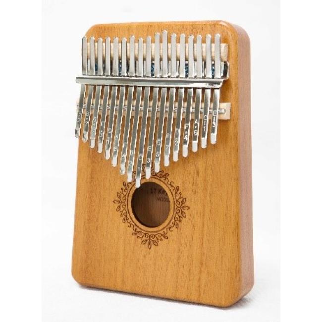 Artland 17 Key Mahogany Kalimba, Nature Thumb Piano - CG-17T