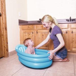 Bestway Inflatable Baby Bathtub, Blue - 51113-02
