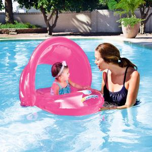 Bestway UV Careful Baby Care Seat, Pink - 34092-02