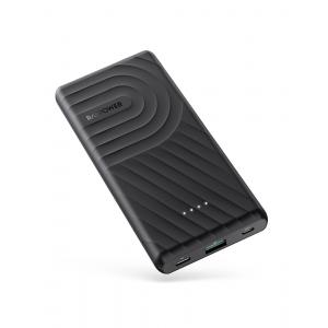Ravpower PD+QC 18W Dual USB 10000mAh Power Bank, Black - RP-PB195