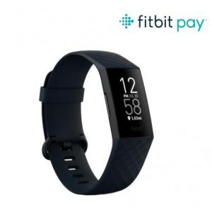FitBit Charge 4 Fitness Tracker + GPS Storm Blue / Black