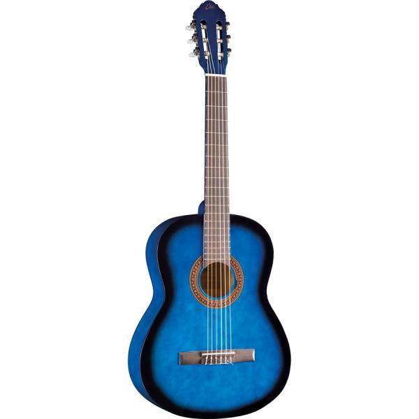 Eko Classical Guitar, Blue Burst - CS-10-BLUE