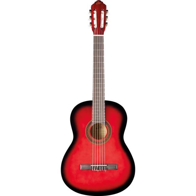 Eko Classical Guitar, Red Burst - CS-10-RED