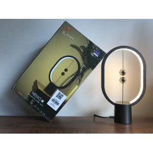 Allocacoc Heng Balance Lamp Ellipse Mini Plastic USB-C; DARK GREY