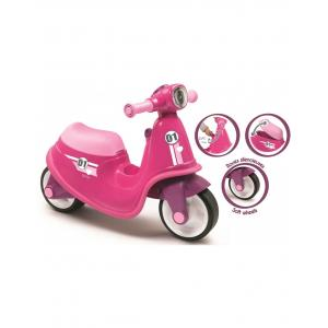 Smoby Scooter Baby Walker, Pink - 721002