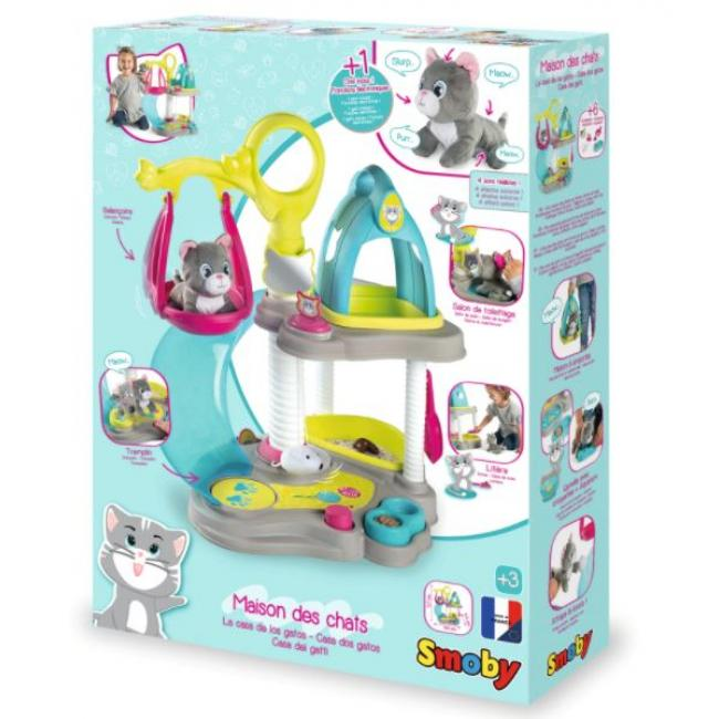 Smoby Cat's House Playset - 340400