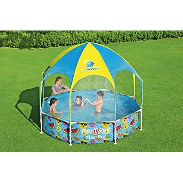 Bestway Splash-in-Shade Play Pool 2.44 x 0.51m - 56432