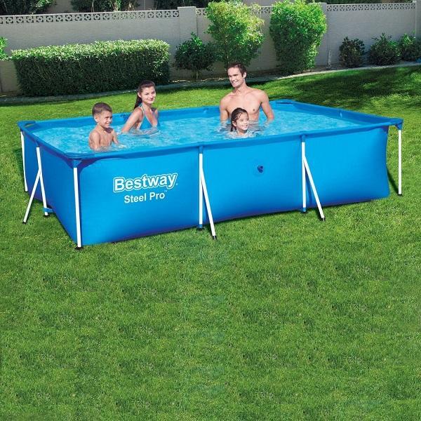 Bestway Deluxe Splash Pool, 3.0 x 2.01 x 0.66m, 3300ltr - 56404