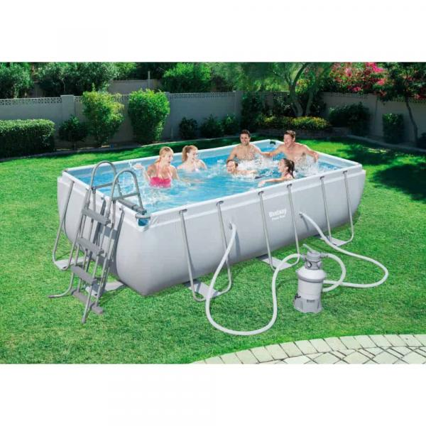 Bestway Rectangular Pool Set, 4.04m x 2.01m x 1.00m - 56442