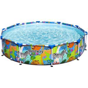 Bestway Safari Swimming Pool, 305cm x 66cm - 56985