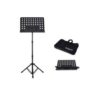 Artland Music Sheet Foldable Stand with Bag, Black - MS150