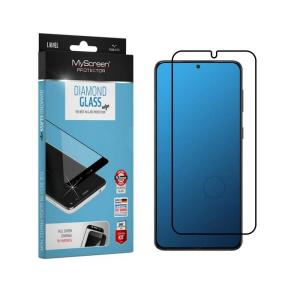 MyScreen DIAMOND GLASS edge Full Glue Black- iPhone 12 Pro Max 6.7″