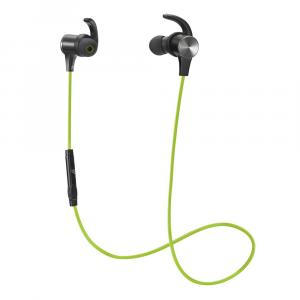 Roll over image to zoom in TaoTronics BH07 Sweatproof Bluetooth in-Ear Headphones with Mic – Green