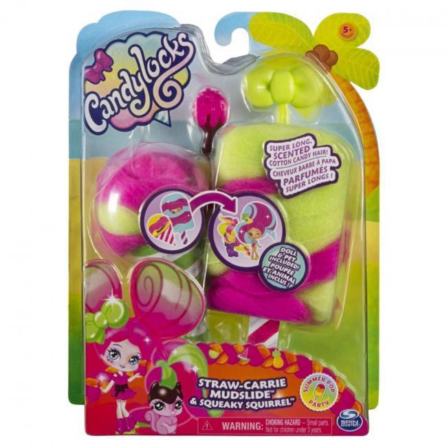 CandyLocks Doll & Pet Assorted - 6056250-T