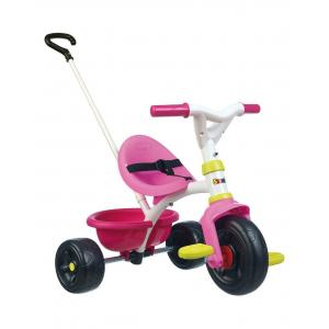 Smoby Baby Tricycle Be Fun, Pink - 740322