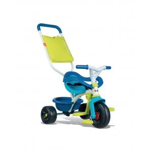 Smoby Baby Tricycle Be Fun Comfortable, Blue - 740405