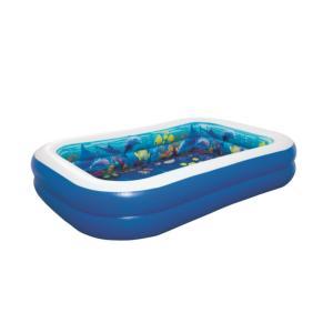 Bestway 3D Undersea Adventure Pool, 2.62m x 1.75m x 51cm - 54177