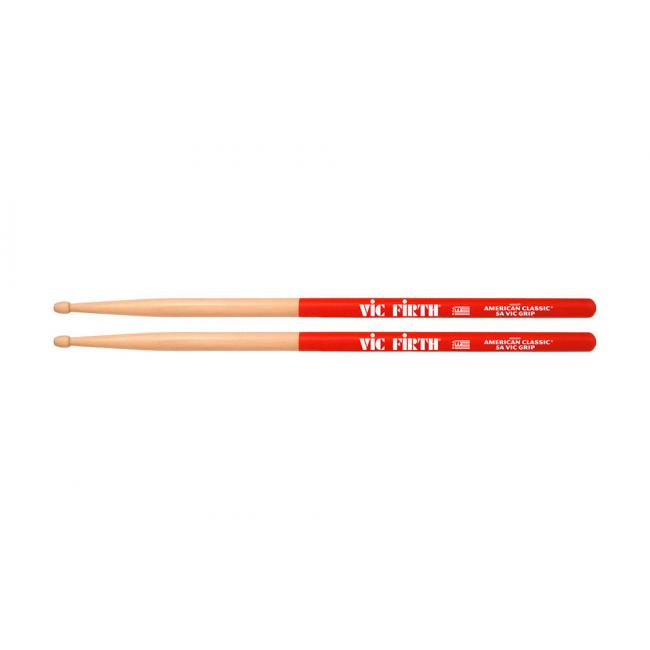 VicFirth American Classic Vic Grip 5A Drumsticks - 5AVG