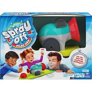 Spray Off Play Off, Water Splashing Game - 6056959-T