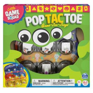 Little Game Squad Pop Tac Toe Board Game - 6059452-T